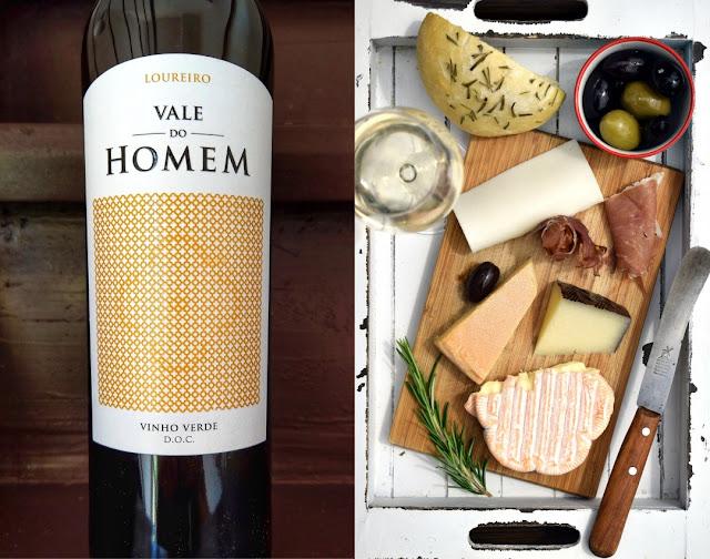 Vinho Verde mit Kaese