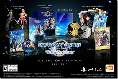 Wow.. Sword Art Online: Hollow Realization Collector Edition