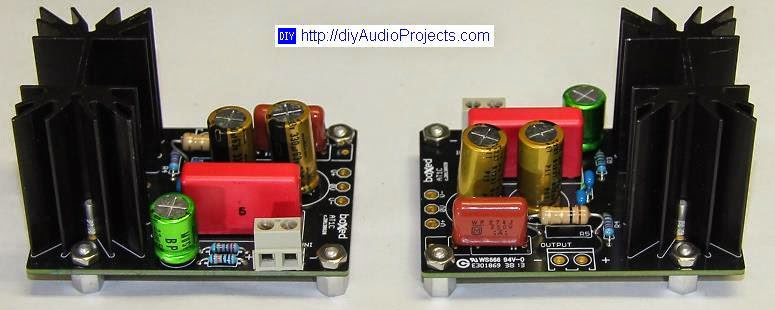 LM1875 Amplifier PCB modules