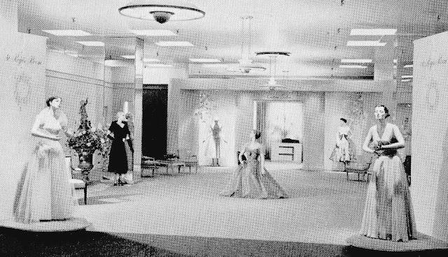 1940s Toronto Simpsons mannequins photograph