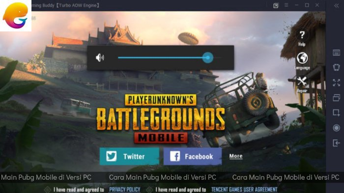 Emulator PUBG Mobile Versi PC dengan Tencent Gaming Buddy