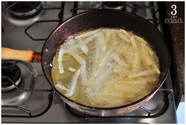 como fazer batata frita