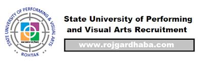 State University of Performing and Visual Arts - SUPVA Jobs