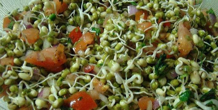 अंकुरित सॅलेड - पाककला | Ankurit Salad - Recipe