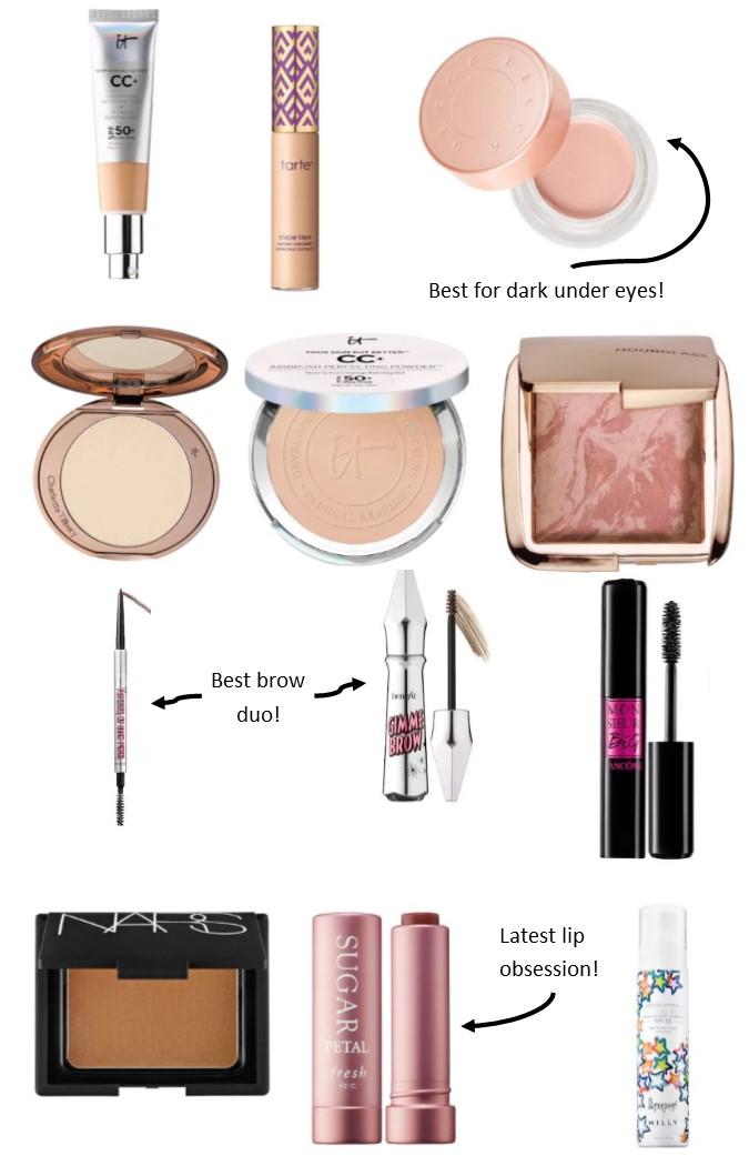 Spring Everyday Makeup Routine Kelsie Fox