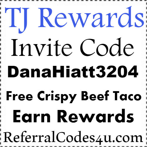 TJ Rewards Invite Code, Taco John's App Referral Code, Taco John's Printable Coupon 2021