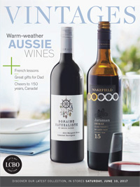 LCBO Wine Picks from June 10, 2017 VINTAGES Magazine