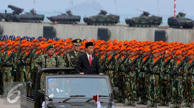 Anggaran Pertahanan Indonesia Akan dinaikan
