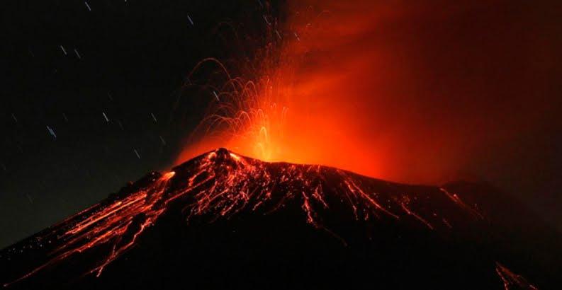 Messico: Vulcano Popocatépetl registra diverse eruzioni stromboliane