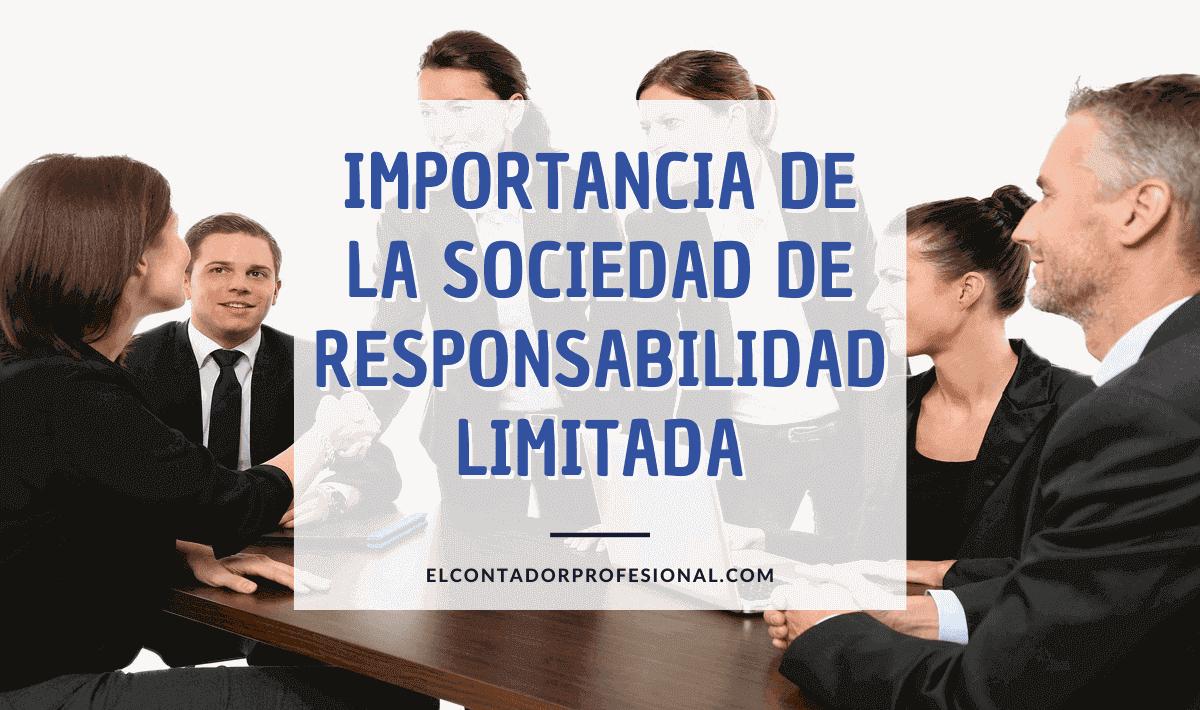 importancia de la sociedad de responsabilidad limitada