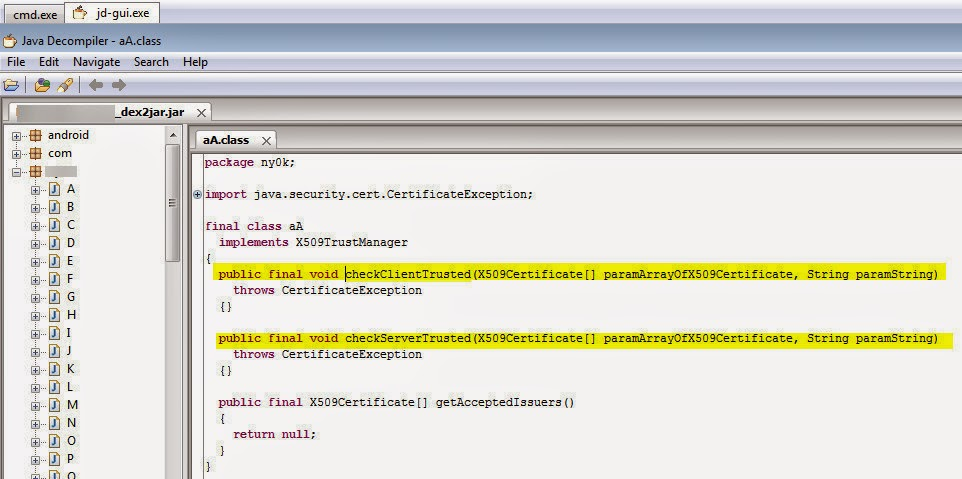 Bypass Ssl Certificate Pinning In Android