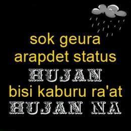 Gambar Meme Lucu Hujan Keren Dan Terbaru