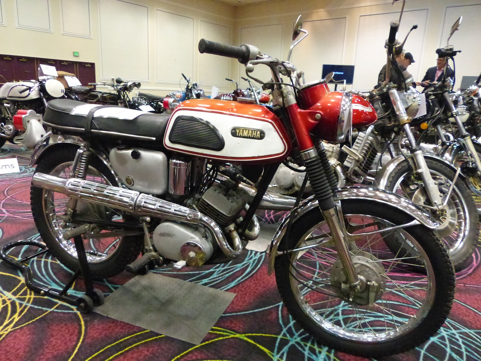 OldMotoDude: 1968 Yamaha AS-1 125 Sold For $2,760 At The
