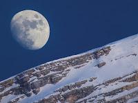 Moon over Antelao