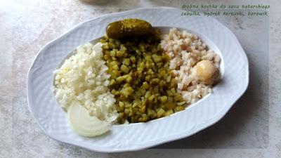 sos tatarski, dieta