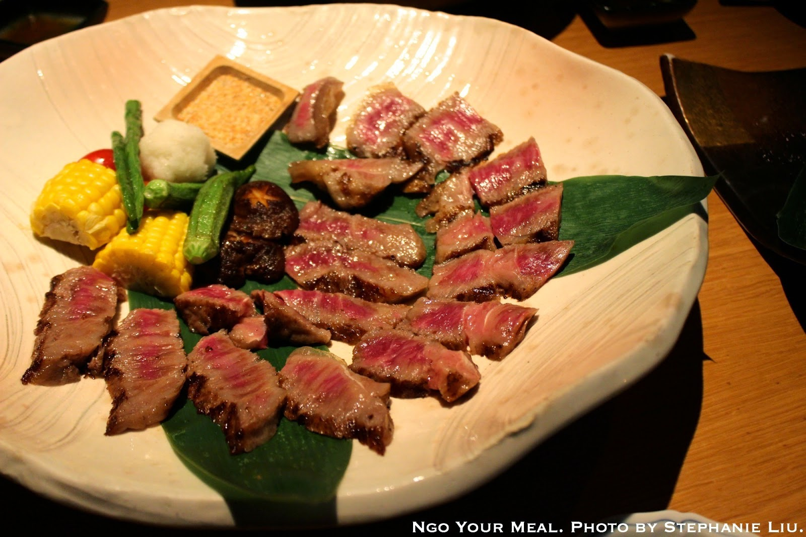Wagyu from Miyazaki, Japan at EN Japanese Brasserie