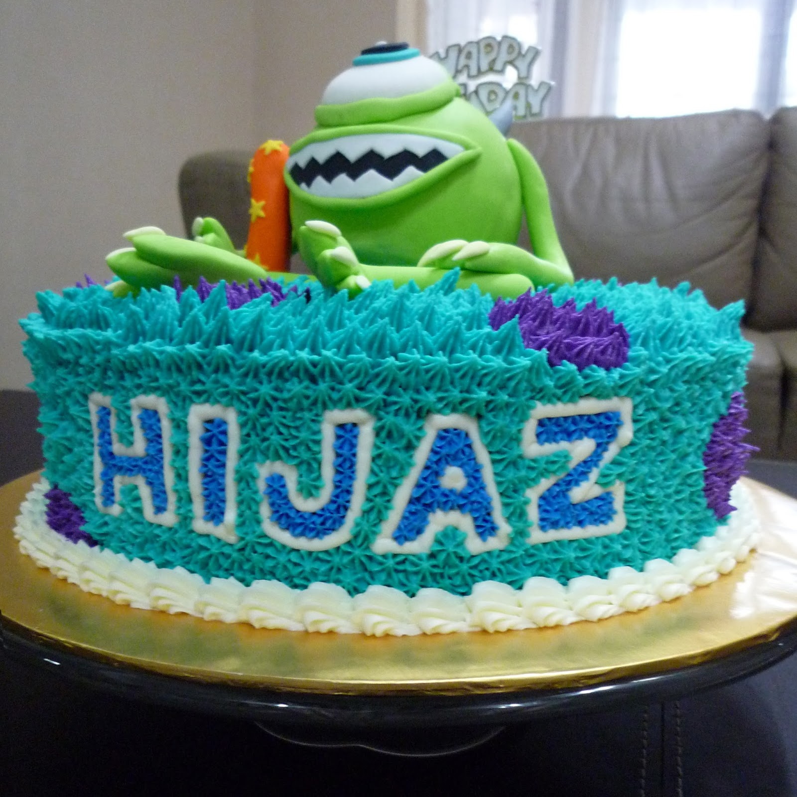 Everything You Need To Know About Wedding Cake: GG Home Biz Cakes & Wedding Cakes: Monsters University