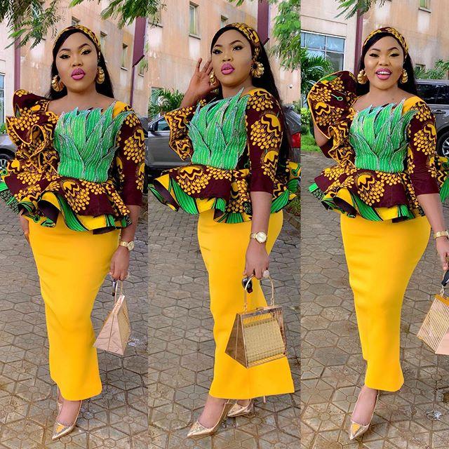 a467878c65b 37 Native Ankara Styles Attires For Nigerian Ankara Styles Catalogue ...