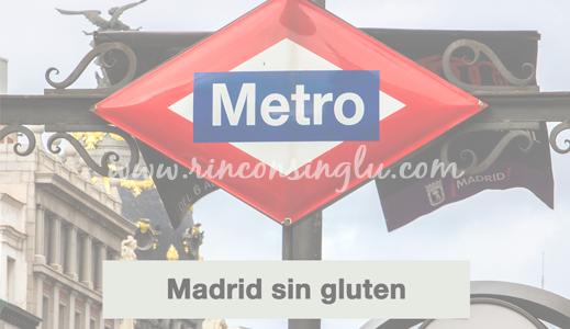Madrid sin gluten