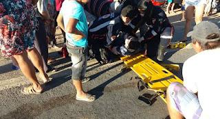 Acidente entre motos deixa duas mulheres e um homem ferido em Nova Floresta