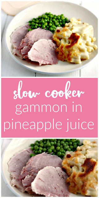 Slow Cooker Gammon in Pineapple Juice