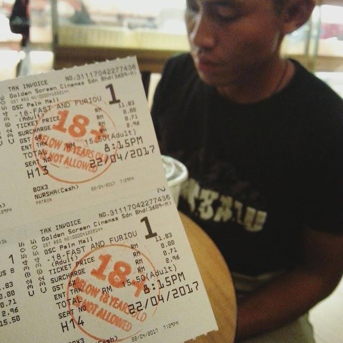 Review Movie Fast & Furious 8 ~ 5 OH(sem) saya beri!