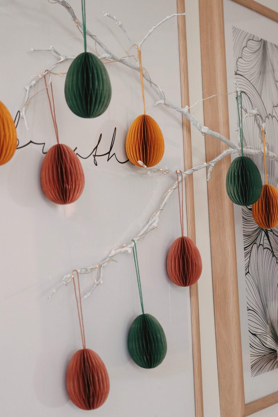 Skandi Style Easter Decorations
