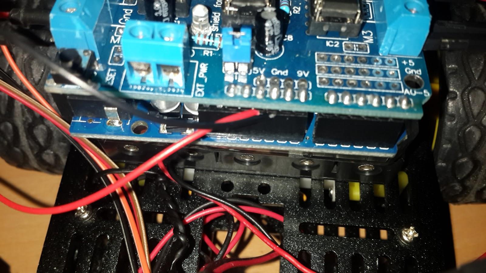 Inside Hackers Mind Hooking Up Sainsmart Motor Shield