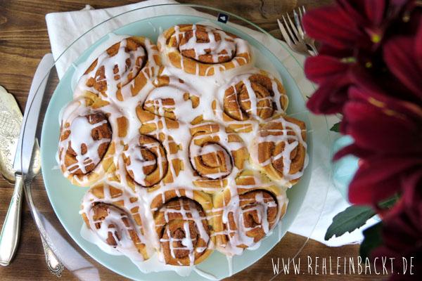 Zimtschneckenkuchen, Zimtrollenkuchen | Foodblog rehlein backt