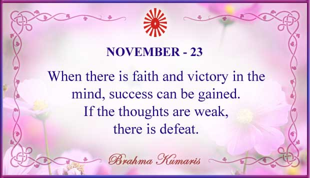 Thought For The Day November 23