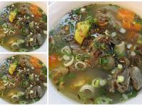 Resep Sup Tetelan dan Kaki Kambing Kuah Berkaldu Lezat Sedap