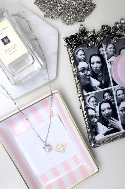 Gemporia cat pearl necklace
