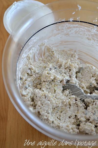 Keshke, boulgour au yaourt et à la menthe
