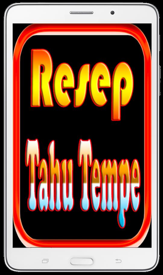 Koleksi Resep Tahu Tempe