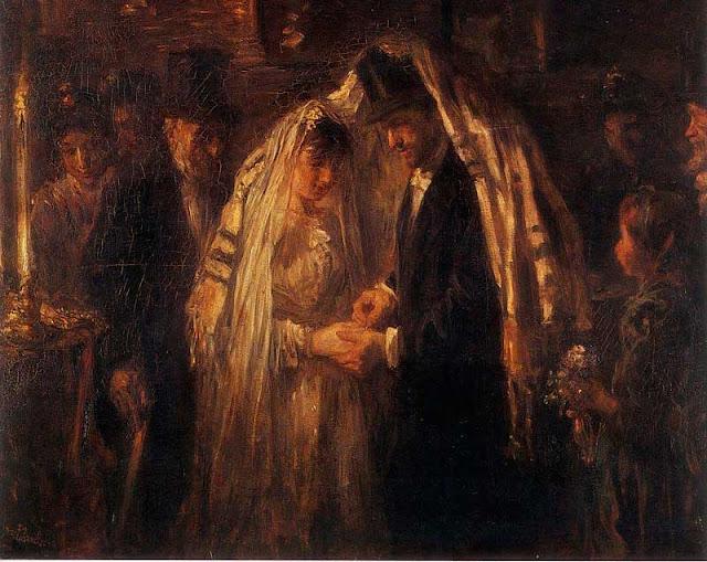 casamento judeu alianças