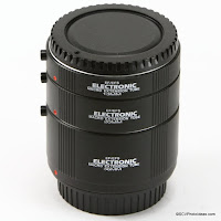 Macro Extension Tube Set for Canon EF Mount