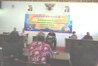 Forum Konsultasi Publik Rancangan Awal RPJMD  Demak