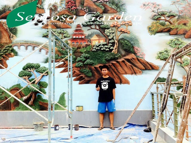 relief 3D tukang taman jakarta