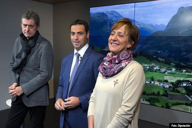 El diputado de Promoción Económica junto al presidente de Ezkerraldenda