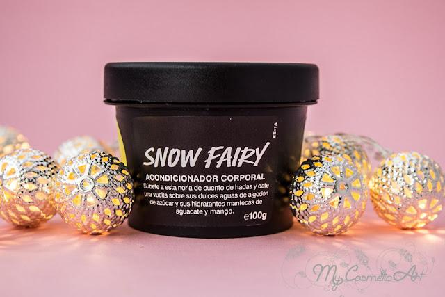 Acondicionador Corporal Snow Fairy de Lush, Edición Limitada de Navidad.