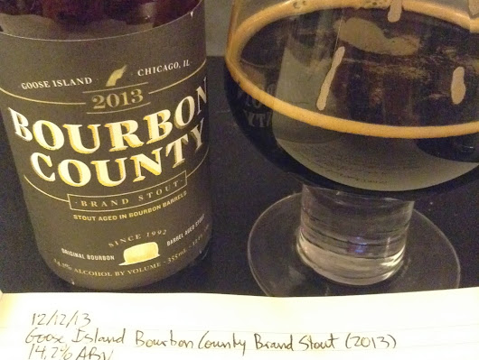Review: Goose Island Bourbon County Brand Stout (2013)