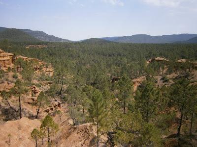 El Cañón geológico, Casilla de Ranera, Talayuelas, Cuenca, España