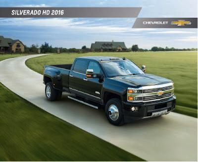2016 Chevrolet Silverado 3500HD Downloadable Brochure