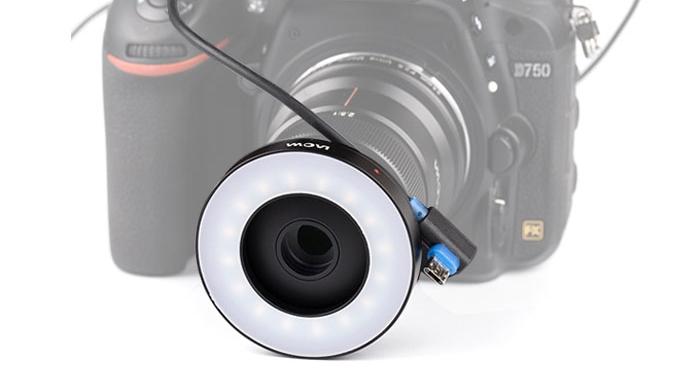 Front LED Right Light и объектив Laowa 25mm f/2.8 2.5-5X Ultra Macro