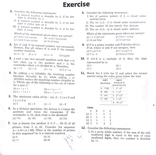 COMBINED EXERCISES FOR NUMBER SYSTEM , SURDS AND RADICALS & PROGRESSION 1