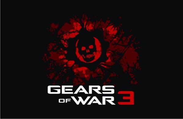 Gears Of War 3 Logo Vector Game