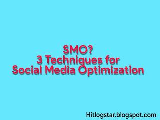 Social Media Optimization- Image