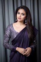 Keerthy Suresh Latest Photo Shoot  in Saree TollywoodBlog