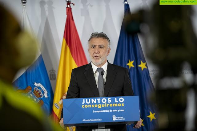 """El presidente Torres subraya que """"Canarias ha hecho bien su trabajo, con un muy buen plan de desescalada, y hoy está más cerca de recuperar la normalidad"""""""