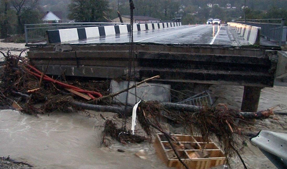 В Краснодарском крае РФ - потоп